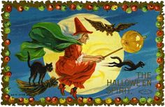 i love puzzles!  Halloween Witch