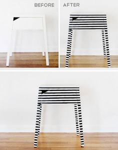 Makeover a Plain Nightstand In Minutes | 18 Life Hacks Every Girl Should Know | Easy DIY Projects for the Home