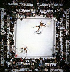 Muhammad Ali beating Cleveland Williams - Neil Leifer