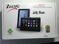 "Zeepad Jellybean 7.0 Green 7"" Android 4.2 WiFi Touchscreen Tablet Mint In Box #Zeepad"