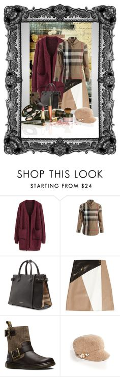 """""""Picture"""" by bren-johnson ❤ liked on Polyvore featuring Burberry, Michael Kors, Dr. Martens and Betmar"""