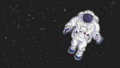 David M. | Soply | Hire David here: soply.com/david.mceachern   Astronaut  #illustration #graphicart #space #animation