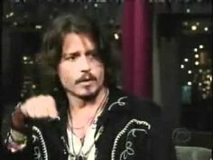 Best of Johnny Depp on Letterman [Part 1] - this is hilarious! I was laughing so hard throughout the entire video!