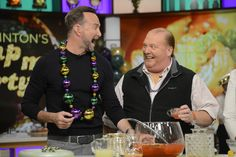 This Mardis Gras punch is STRONG! Photo credit: ABC/Ida Astute
