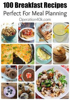 Don& miss our huge list of breakfast recipes! This list is ideal for meal planning and includes tons of great ideas your family will love! Breakfast Quiche, Breakfast Time, Breakfast Recipes, Breakfast Dishes, Healthy Recipes, Delicious Recipes, Meal Recipes, Baking Recipes, Dinner Recipes
