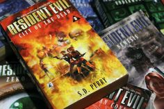 Resident Evil Novels by SD Perry