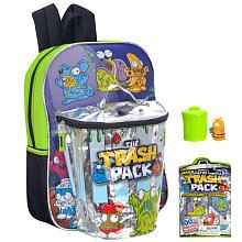 The Trash Pack 16 inch Backpack - Green Uggh.  Isaac SERIIOUSLY wants this.  I can't figure out if I'm just being a snob or not.   Bleh.