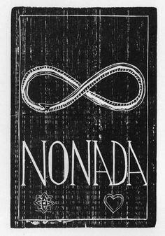 Nonada, Xilogravura de Arlindo Daibert
