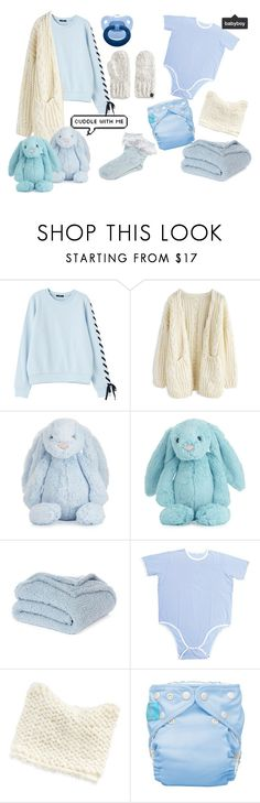 """""""Winter Baby Boy"""" by samaelsutcliffe on Polyvore featuring Chicwish, Jellycat, Nordstrom Rack, LC Lauren Conrad, Cuddl Duds, men's fashion and menswear"""