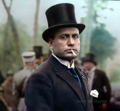 Fascist dictator of Italy World History, World War Ii, Italian Army, Colorized Photos, Modern History, France, Historical Photos, Ducati, Role Models