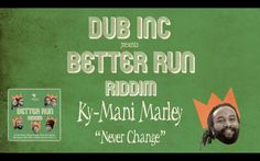 Megamix BETTER RUN RIDDIM (produced by Dub inc)