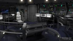 Star Trek: Enterprise. NX-01 Bridge