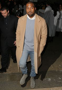 winter (not) basics // topcoat, overcoat, camel, tan, denim, boots, sweater, sweatshirt, kanye, yeezy, menswear, mens fashion, mens style, winter, fall, #sponsored