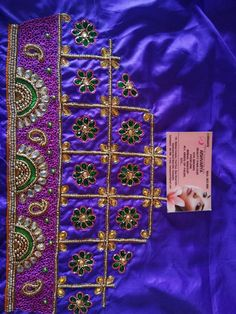 Blouse Designs Catalogue, Kids Blouse Designs, Hand Work Blouse Design, Simple Blouse Designs, Sari Blouse Designs, Dress Neck Designs, Bridal Blouse Designs, Hand Designs, Maggam Work Designs
