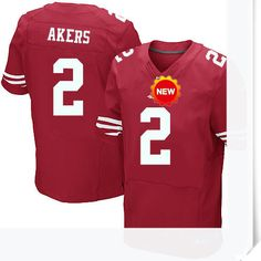 $66.00--David Akers Jersey - Elite Red Home Nike Stitched San Francisco 49ers Jersey,Free Shipping! Buy it now:http://is.gd/gTK6AI