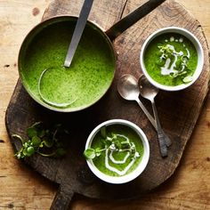 Celery and Watercress - This mellow soup is perfect for a misty day - recipes on HOUSE by House & Garden.