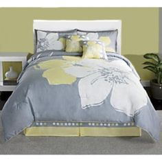 Yellow And Gray Bedding Links To Other Too