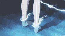 Anime Feet GIF - Anime Feet Water GIFs