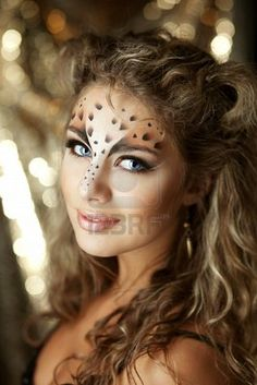 Find Beauty Woman Makeup Snow Leopard Style stock images in HD and millions of other royalty-free stock photos, illustrations and vectors in the Shutterstock collection. Leopard Eyes, Snow Leopard, Leopard Fashion, Costume Makeup, Beauty Women, Eye Makeup, Photo Editing, Halloween Face Makeup, Royalty Free Stock Photos