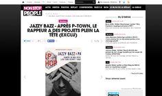 PHH sur Non Stop People.fr (Jazzy Bazz) le 29 Mai 2016