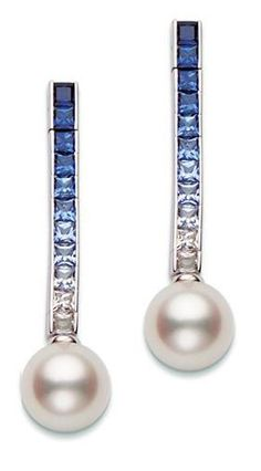 Mikimoto #Pearl #Ocean #Earrings