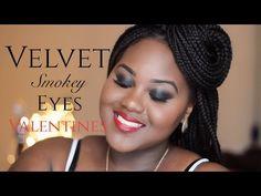 Velvet Smokey Eyes for Valentines Beauty Makeup, Hair Makeup, Ghana Fashion, Dark Skin Girls, Best Foundation, African American Women, African Beauty, Brown Skin