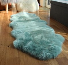 Faux Sheepskin Rug, Faux Fur Rug, Bed Sores, Duck Egg Blue Rugs, Shaggy Rug, Red Turquoise, Home Kitchens, Colours, Home Decor