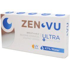 Lentile de contact ZenVu Ultra lunare 6 lentile/cutie Lenses, Events, Type
