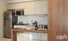 Resultado de imagem para cozinhas planejadas para apartamentos pequenos