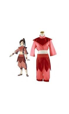 Avatar The Last Airbender The Legend of Korra Ty Lee Costumes