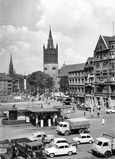 Rynek (Ring / Marktplatz / pl. Maciejewskiej), Bytom - 1964 rok, stare zdjęcia