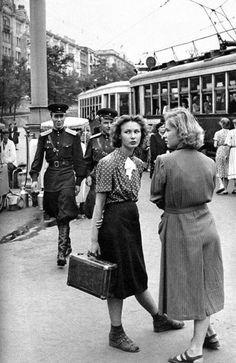 Moscú, años 50.