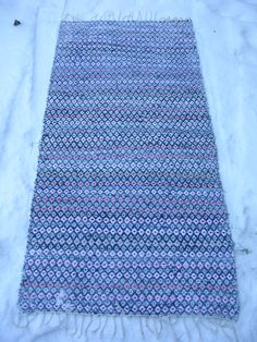 Tyger, Crochet Afghans, Recycled Fabric, Woven Rug, Handicraft, Loom, Recycling, Weaving, Outdoor Blanket