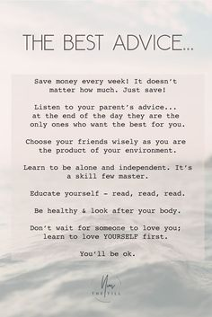 New Quotes Life Truths Wise Words Good Advice Ideas Self Love Quotes, Great Quotes, Quotes To Live By, Best Advice Quotes, Beautiful Soul Quotes, Life Is Hard Quotes, Wisdom Quotes, True Quotes, Words Quotes