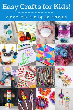 These easy crafts for kids are great for any age. You can make these projects at home with simple supplies, and adults can join in too. Most of them are pretty quick; all of them are attainable. I know that one of the hardest things in the world is coming up with a craft idea … The post Easy Crafts for Kids: 50 Unique Ideas! appeared first on Mod Podge Rocks. Easy Crafts For Kids, Projects For Kids, Crafts To Make, Diy Crafts, How To Make Stickers, Glitter Jars, Worry Dolls, Silly Putty, Diy Magnets