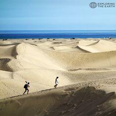 Exploration & Photo by @ortelpa Location / Maspalomas, Gran Canaria, Canary Islands, Spain