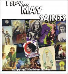 MAY Saints: FREE printable