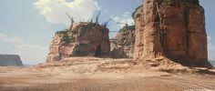 ArtStation - Mad Max Fury Road DMP   Citadel view, Jacek Irzykowski