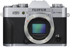 Фотоаппарат со сменной оптикой Fujifilm X-T20 (серебристый)