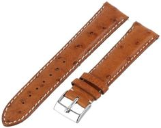 Swiss Watch International 20 MM Cognac Genuine Ostrich Strap 20DA03C - http://www.specialdaysgift.com/swiss-watch-international-20-mm-cognac-genuine-ostrich-strap-20da03c/