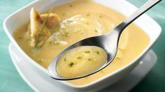 Potage de navet et poires à la ciboulette | Recettes IGA | Soupe, Légumes, Recette facile