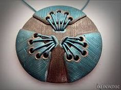 tree of life polymer clay pendant - Google zoeken