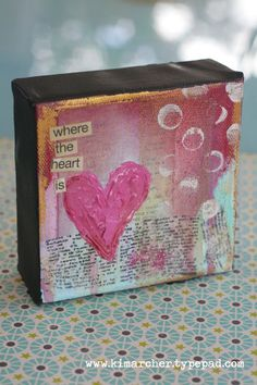small but stunning :)  a cute vbs craft - print scripture and adhere where you see the print.   or  make it a love note to a family member- a note of encouragement gift, etc