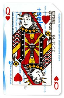 Queen of Hearts - Statue of Liberty