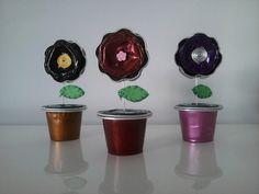 49a64f493879920da9023b7a030c8a6a Faça você mesmo: 30 Ideias para reutilizar e decorar com cápsulas de café Nespresso cozinha…