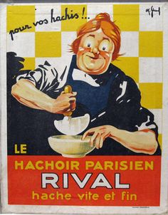 Rival vintage poster by OK Gerard from 1930 France