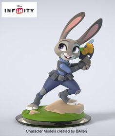 Disney Infinity Judy Hopps, B Allen on ArtStation at https://www.artstation.com/artwork/disney-infinity-judy-hopps