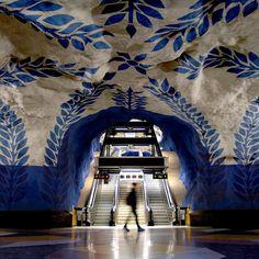 地下鉄 ストックホルム スウェーデン Metro, Stockholm, Sweden