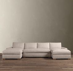 Maxwell Upholstered U Chaise Sectional | Sectionals | Restoration Hardware