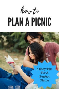How To Plan A Picnic; It's Spring and it's time to have a picnic! Need help getting started?  Well, I've got 5 easy tips on how to plan a picnic.
